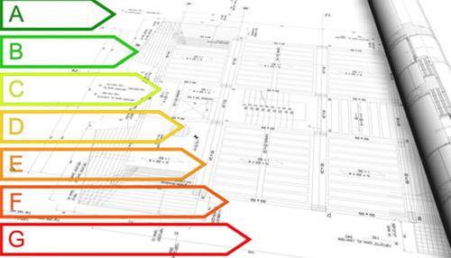 certificazione energetica su disegno tecnico e